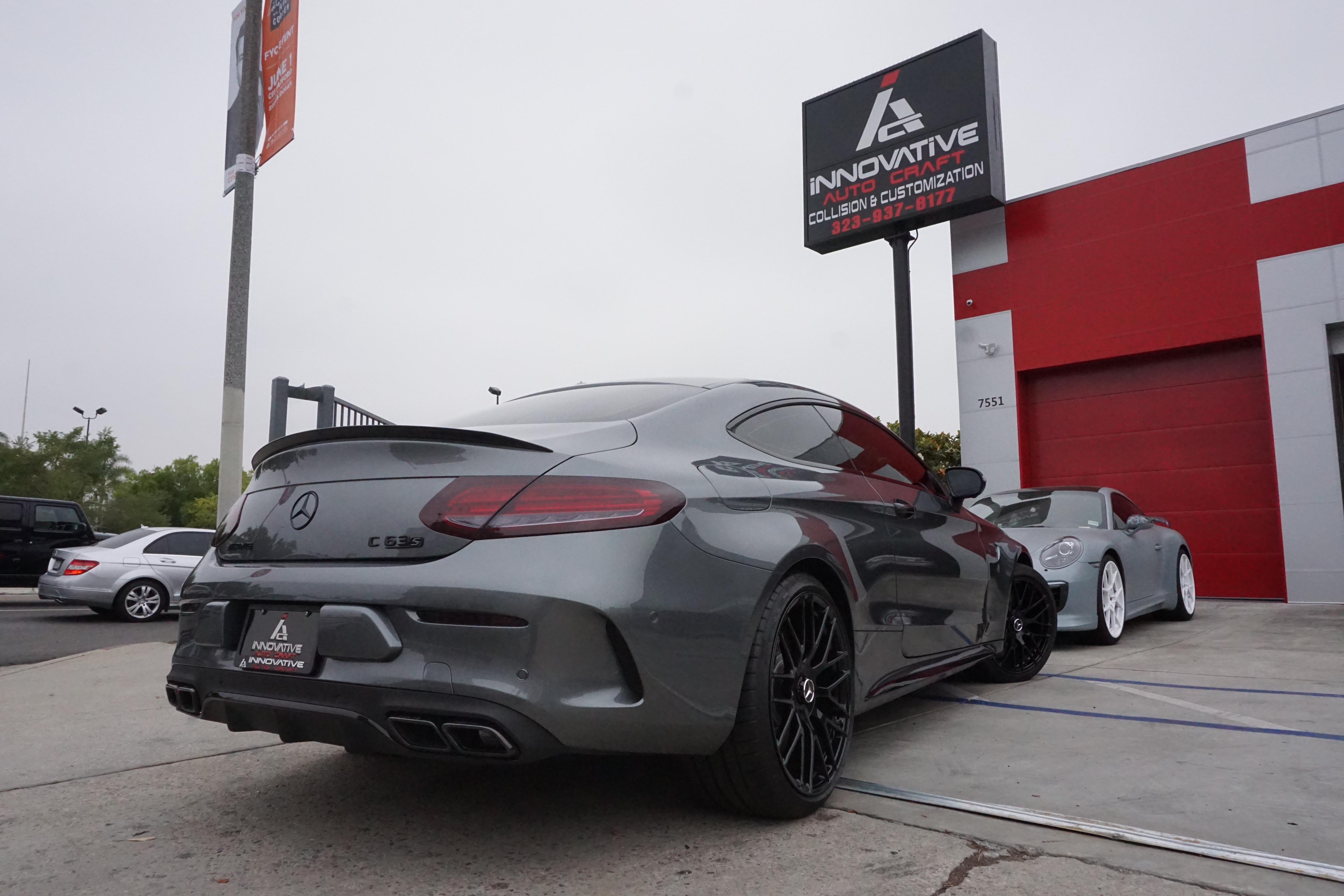 Mercedes Amg C63 S Coupe Innovative Auto Craft