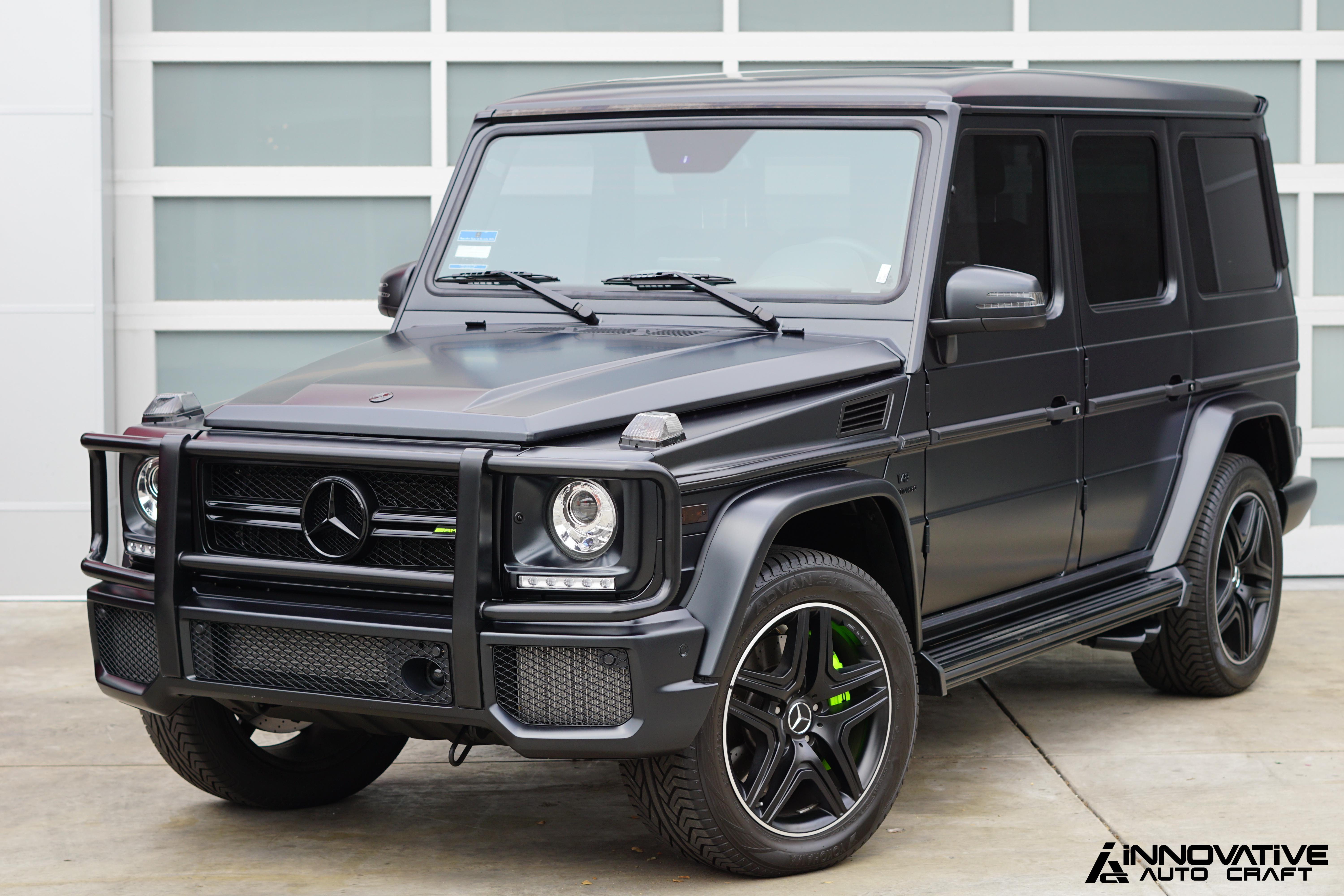 The Project Profile Satin Black G63 Amg Black Out Innovative Auto